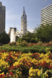 City Hall in downtown Philadelphia